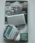 ah household Aluma Wallet 1 Aluminium credit card wallet 2.Material: Aluminium 3.Size: 110*75*20mm 4.Packing: 1pc in a white box
