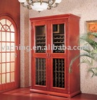 Massive wines storage cabinet