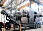 2012 New mobile primary jaw crusher / mobile primary cone crusher