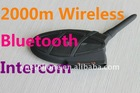 Factory OEM BT Bone conduction 2km Motorcycle Wireless Intercom