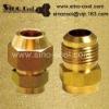 half union brass air fittings