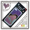 LOVE GIRL ACRYLIC REMOVABLE RHINESTONE STICKERS