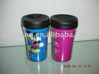 250ml double wall plastic cup with paper inserted BL-5085