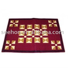 [factory] order 100% polyester printing carpet/solid color carpet/ mat /rug
