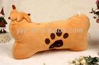 Plush stuffed bone shape pillow
