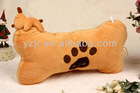 Plush stuffed bone shape pillow
