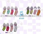2011 100% cotton short girl baby socks