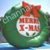 Inflatable christmas Wreath