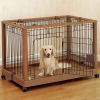 Wooden & Metal Pet Cage