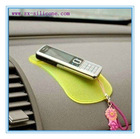 washable and durable dashboard silicone sticky anti slip mat