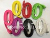 2012 NEW!!!Colorful flat usb cable for i phone for i Pad~ total 9 colours.large stock!