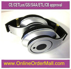2012 hot hangers cute waterproof headphones stereo white