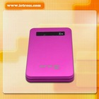 6000mAh mobile power HLXS product MP101 with USB cable