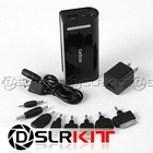 Black 5200mAh External Battery Charger Power Bank for Apple PSP Mini Micro USB