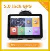 5 inch High Definition Car GPS navigator