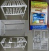 Under sink shelf / grocery shelf / general cargo shelf