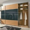 Modern Hanging Sliding Door Wardrobe Design (EL-348W)