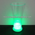New popular light glass cup with led