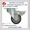 plate Nylon caster with brake/without brake