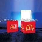acrylic donation drop box