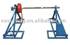 conductor reel stand with drum brake