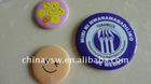 round shape tin button badge