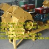 Diesel engine driven hard stone crusher for building construction