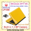 10.2 inch Laptop with Intel Atom D2500 CPU (LP1000)