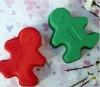 gingerbread shape silicone cake mould /cake mold