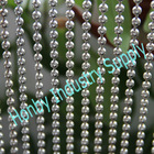 shimmer 8mm ball chain wall decoration divider