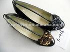 black new style 2012 latest design Spring lovely bulk ladies shoes