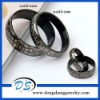 Unique Black Love Stainless Steel weeding Couple ring