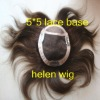 virgin chinese human hair lace frontal closure3.5*4 for women