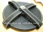 samll leather goods for tea pad