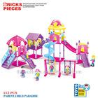 Color intelligent and enlighten bricks set of fairland for kids 112pcs