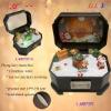 Hand crank msuic box for Christmas gift
