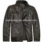 2012 Winter Fashionable Cotton Padded Men's Fur Jacket