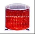Red solar warning light