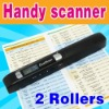 Dual Rollers Mini Handy Scanner a4 O-811