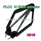 stainless steel special for extracting the mainboard BIOS & different size of PLCC IC ROM extractor tool