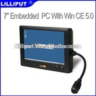 "Lilliput 7"" Mini Embedded System Touch Screen All In One PC"