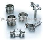 "1/2""-8"" steel holder for pipe"
