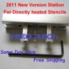 2011 New Version BGA Reballing Station For Stencils Directly Heated
