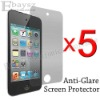 5 x Anti Glare Screen Guard Films For Apple Touch 4 4TH,IP-197