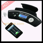 Handsfree Bluetooth Caller ID with MP3 Player, FM Transmitter and TF/USB slot