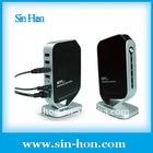 Networking USB2.0 Server with 4 Port Hub