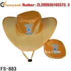 Nylon Folding Hat and Cap / Foldable Cowboy Hat (FS-883)