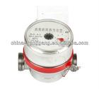 Brass water meter single jet