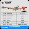 FOSHAN YONGDA YD-800 up and down speparately cutting and continuous edge grinding and chamfering production line