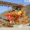 1-5 layers circular vibrating screen machine in mining and quarrying plant